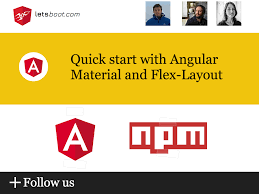 Quick start with Angular Material and Flex-Layout – letsboot – Medium