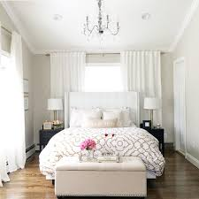 Superior Love This Small Master Bedroom Idea With The Bed In Front Of The Window.  Some Times You Have To Put A Bed In An Awkward Space.