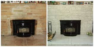 repainting a fireplace insert ideas