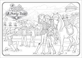 Coloring Pages Barbie Life In The Dreamhouse