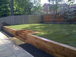 Small Picture Best Garden Ideas With Sleepers Photos Home Decorating Ideas