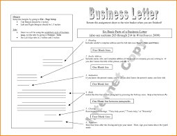 8 Parts Of A Business Letter Quote Templates