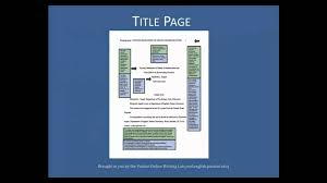 Sample Literature Review Outline Apa Style Academized Lifestyle