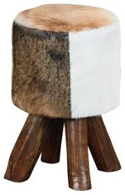 Sterling 6500535 <b>Stool</b> - Rustic - Footstools And Ottomans - by ...