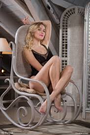 Vika P Nude in Rocking Chair at Femjoy Hunter