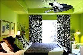Black White Lime Green Bedroom Ideas