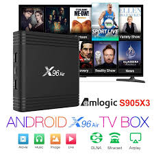 Smart TV BOX x96 air Android 9.0 4K Dual Wifi 3D Netflix Media player Play  Store Free App Fast Set top BOX X96Air PK HK1MAX H96|Set-top Boxes