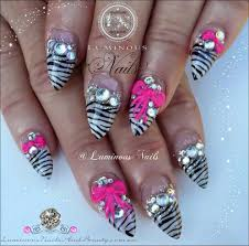 D Bow Art Ideas Eye Cy Training Most Stiletto Nails With ...