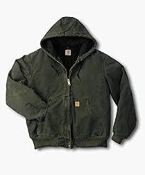 Carhartt Men's J130 Sandstone Duck Active Jacket - Quilted Flannel ... & Carhartt Men's J130 Sandstone Duck Active Jacket - Quilted Flannel Lined -  XXX-Large - Adamdwight.com