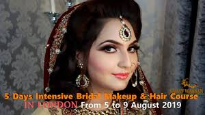 5 days intensive bridal makeup hair course in london 5 to 9 august 2019
