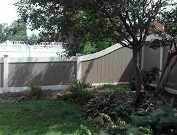 two tone vinyl privacy fence. Modren Privacy With Two Tone Vinyl Privacy Fence C