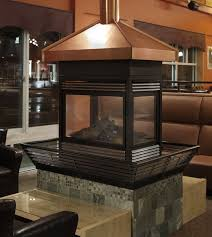 copper fireplace hood