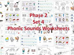 There are two styles of the letter f and two types of k. Phase 2 Set 4 Phonic Worksheets Teaching Resources