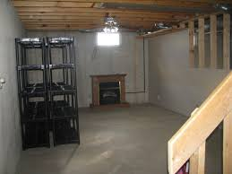 Finishing The Unfinished Basement Ideas In Simple Way Basement - Unfinished basement stairs