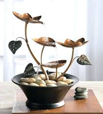 indoor fountain water fountains for the home with regard to tabletop diy feature small ideas