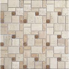 Peel And Stick Kitchen Floor Tile Indoor Outdoor Natural Stone Tile Tile Flooring The Home Depot