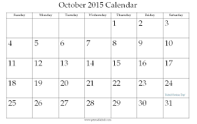 October 2015 Printable Calendar Hub Premieredance Calendar
