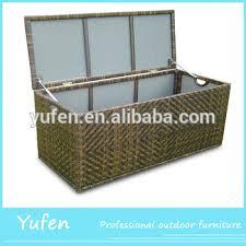 Rattan Waterproof Outdoor Cushions Storage Box Buy Outdoor