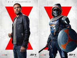 Natasha's enemy this time will be taskmaster, a villain with the ability to mimic the physical movements of anyone he witnesses. Brand New Posters Arrive For Black Widow Marvel