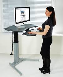desk the new stand up computer regarding home prepare mobile pertaining to amazing property standing computer desk decor