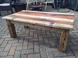 Diy Reclaimed Barn Wood Coffee Table Crafts