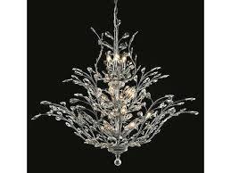 elegant lighting orchid royal cut chrome crystal 25 light 41 wide grand chandelier