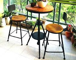 bistro table indoor tall cafe table indoor cafe table and chairs continental iron creative leisure indoor