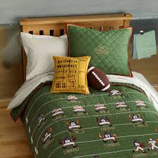 nfl quilt bedding set designs football queen size sets antique white furniture long single double mattress