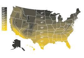 Us Groundwater Temperature Bradley Corporation