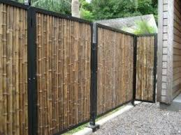 Large outdoor bamboo blinds