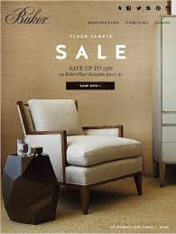 baker furniture floor sample sale january 1 31 2015