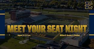 Greene Stadium Seating Chart