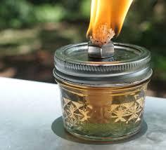mason jar oil lantern