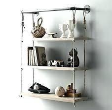 best way to hang a shelf hanging rope shelf the best way to go about shelving best way to hang a shelf