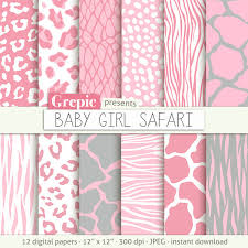 light pink giraffe print background