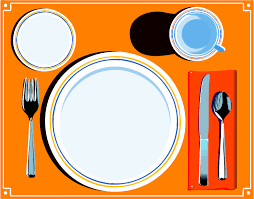 dinner table setting clipart. clip art dinner table setting clipart clipartsign.com