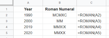 Roman Numbers 1 2000 Chart Roman Numerals Generator Capitalize My Title