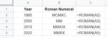 Super Bowl Roman Numerals Chart Roman Numerals Generator Capitalize My Title