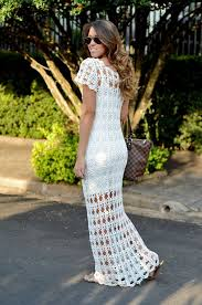 Crochet Wedding Dress Pattern Impressive The Crocheted Wedding Dress