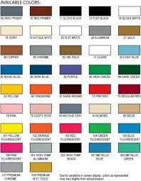Industrial Paint Colour Chart Halfords Car Paint Colour Chart Www Bedowntowndaytona Com
