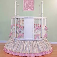 ... Round Crib Bedding Set