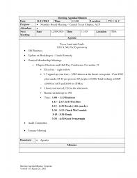 meeting notes template word minutes for example of it