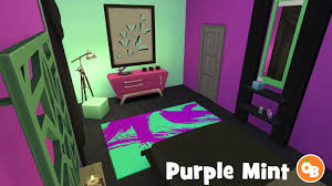 Green And Purple Room