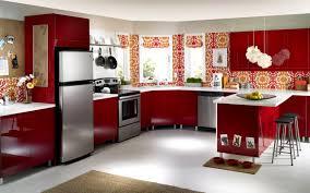 Kitchen Design Hd Photos Red Kitchen Furniture Wallpaper Hd Pack Wallpapers
