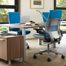 color office chairs. Steelcase Gesture Office Chair With Wrapped Back And Light/Light Color Scheme\u2026 Chairs E
