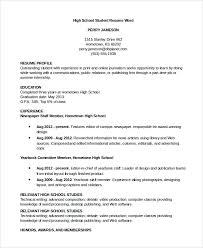 Sample Resumes In Word Resume Sample 8 Examples In Word