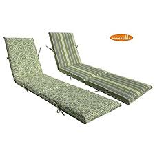 outdoor chaise lounge cushions. Bossima Indoor/Outdoor Green/Grey Damask/Striped Chaise Lounge Cushion,Spring/Summer Seasonal Replacement Cushions. Outdoor Cushions O