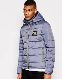 Love moschino Gold Zip Quilted Jacket in Blue for Men | Lyst & Gallery Adamdwight.com
