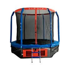 <b>Батут</b> с внутренней сеткой и лестницей <b>DFC</b>™ <b>Jump Basket</b> 6FT ...