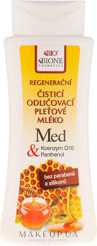 <b>Молочко для лица</b> - Bione Cosmetics <b>Honey</b> + Q10 Milk: купить по ...